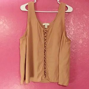 Forever 21+ women's size 2x sleeveless blouse